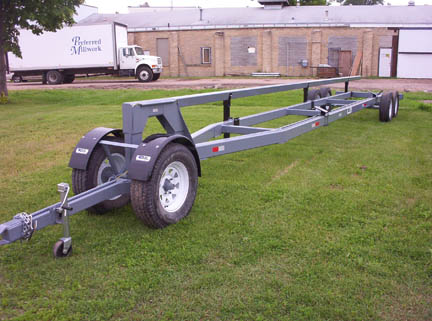 35 foot header trailer